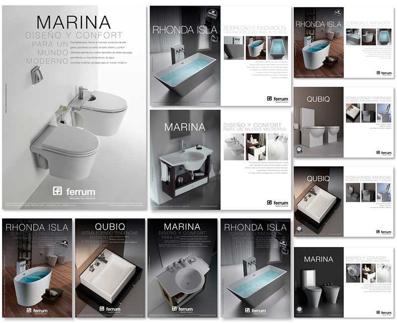 Estudio cavallero for Baneras ferrum catalogo